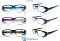 Venta al por mayor baratos de plástico gafas de lectura con marco color graduado( brp3766)
