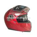 cor vermelha dupla viseira do capacete para venda