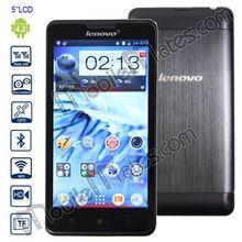 Original 5'' Lenovo P780 3G Cell Phones Android 4.2 MTK6589 Quad Core 1GB/4GB Dual SIM Dual Camera Wifi GPS
