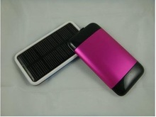 portable mobile power bank charger solar power bank 2600mah China manufacturer cheap price