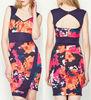 Flower Dress,Ladies office Flower Dress,Ladies designer office dresses