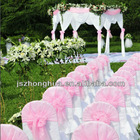 100% polyester cheap chair covers,chair sashes organza fabric