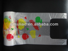 Color Printed Cheap T-Shirt Packing Plastic Bags/Vest Bags In Rolls