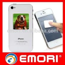 Novelty multi functional self adhesive handphone animal screen cleaner