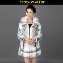High Quality Mink Fur Coats Modern