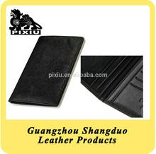 Excellect Handcraft Leather Passport Holder Travel Wallet for Men
