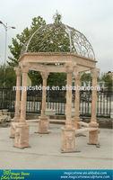 garden marble column gazeboes for sale