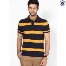 free sample high quality black and yellow polo shirts