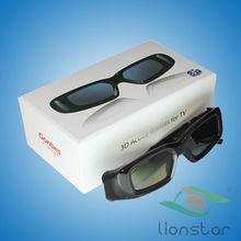USB rechargeable Factory dlp link 3d glasses good quality 3d projector