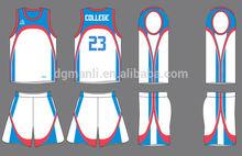 basketball jersey fashion style basketball top