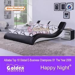 Furniture manfacturer solid wood slatted adjustable bed frame for sale G884