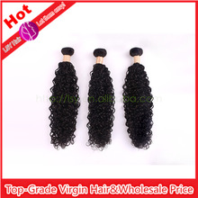 New Arrived Non-chemical Processed Virgin Jerry Curl Peruvian Human Hair Extension