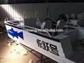 17ft alumínio bass barco de trabalho utilizados
