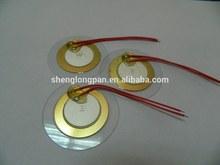 Ultrasonic Transducer for Flow Sensor