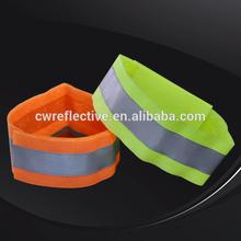 Alibaba China Fluorescent Elastic Velcro Reflective Armband for Sale