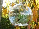100 wholesale clear glass christmas ball ornaments, clear glass ball MH-KX019