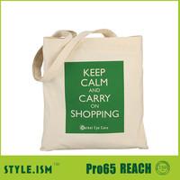 Cheap Wholesale plain white cotton canvas tote bag