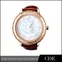 2014 Newly Design Crystal Luxury Women Watches