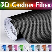 TeckWrap Motion 180 Premium Series- 1.52*20m (5Ft*65Ft) Quality Glue 3D Carbon Folie,