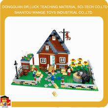 wange happy farm tech brick toy