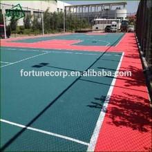 Outdoor Sports Interlocking Plastic/Vinyl Basketball Flooring