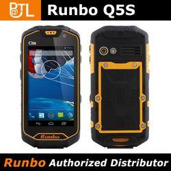 "Runbo Q5S Walkie Talkie 4.5"" Gorilla 1GB RAM/8GB ROM 8.0MP Camera GPS Quad Core mtk6589 cell phone internal gps antenna"