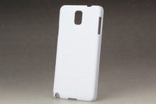 For samsung galaxy note III 3 blank sublimation case, hard snap-on case, glossy