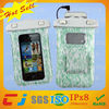 light green sweety color waterproof bag for iphone 5/5s with high quality