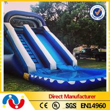 New used slides for pools,large inflatable pool slide