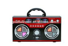 New Arrival High Quality Digital Display Portable Mini am fm Home Radio