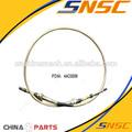Liugong piezas, 44c0006 tl2100 push- pull suave del eje, clg855, clg856, clg835, clg842, push- pull cable, de la manguera, eje flexible