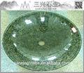 brasil banheiro design verde escuro granito cânhamo pia
