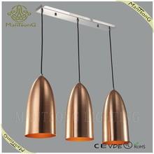 2015 new design brassy metal shade pendant light