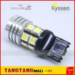 7443 White/Blue/Red/Yellow/Amber 7W CREE SMD LED Led Light Bulb ,Auto Light, Car Light