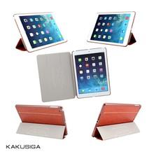 KAKU case manufacturer 3 folds candy color case for ipad mini