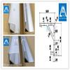 High quality extruded aluminum frame for LED