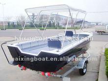 deep v aluminum fishing yacht;aluminum boat with yamaha engine