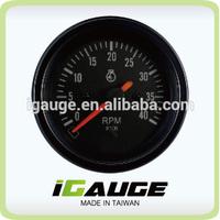 85mm auto gauge 0-4000 rpm Tachometer for marine yacht