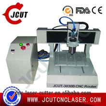 Mini desktop easy operation reasonable price JCUT-3030 wood cnc machinery