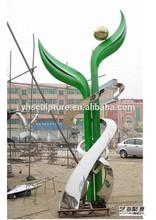 park decoration Metal sculpture