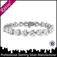 small business ideas low moq fashion 925 sterling silver bracelet