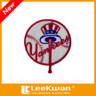 Major League Baseball Of Baseball Club Embroidered Badge For Sporting Uniforms