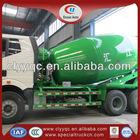 FAW 10CBM concrete mixing used japanese concrete mixer truck