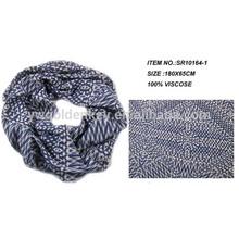 Fashion Newest round neck Viscose scarf