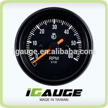 85mm auto gauge 100% Waterproof UV Protection Marine Tachometer for Yacht