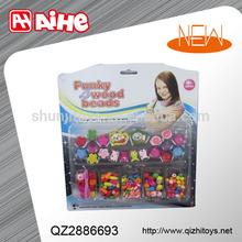 2015 promotion toy,girl diy kid jewelry,handmade decoration