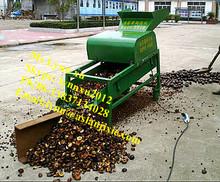 Sapindus soap nut sheller/soap nut shell removing machine