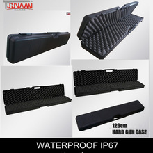 Tool carry plastic gun case with PP/ABS material for shooting