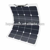 High efficiency 50W PV flexible solar panel,sunpower solar power system