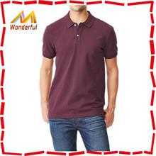 Top quality 100% cotton short sleeve microfiber polo shirt for men/blank comfortable casual cotton polo t shirt